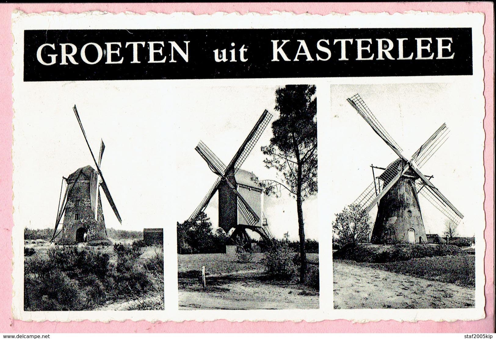 Groeten Uit Kasterlee - 3 Molens - 1961 - Kasterlee