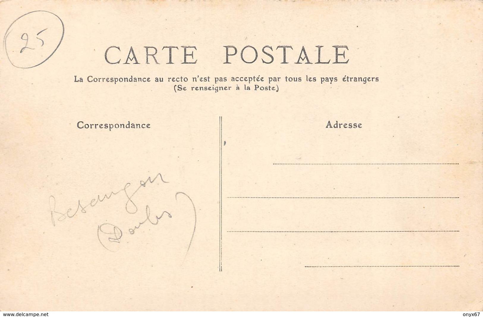 Besançon-25-Doubs-Publicité Commerciale Horlogerie Du Doubs-Loterie Cloche De Bois-Roulotte METIER-TOP CARTE-RARE - Besancon