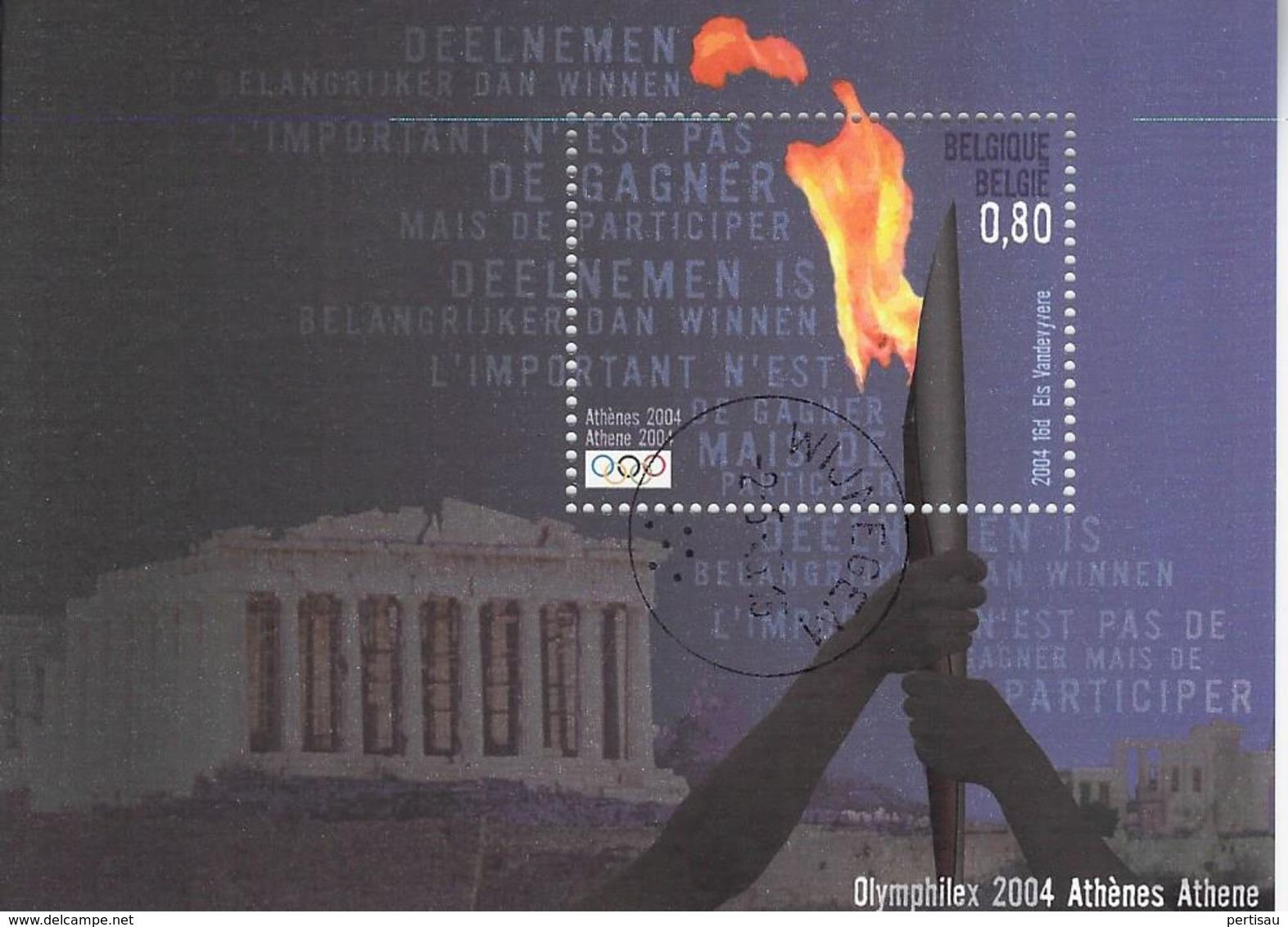 O L Athene 2004 - Bélgica