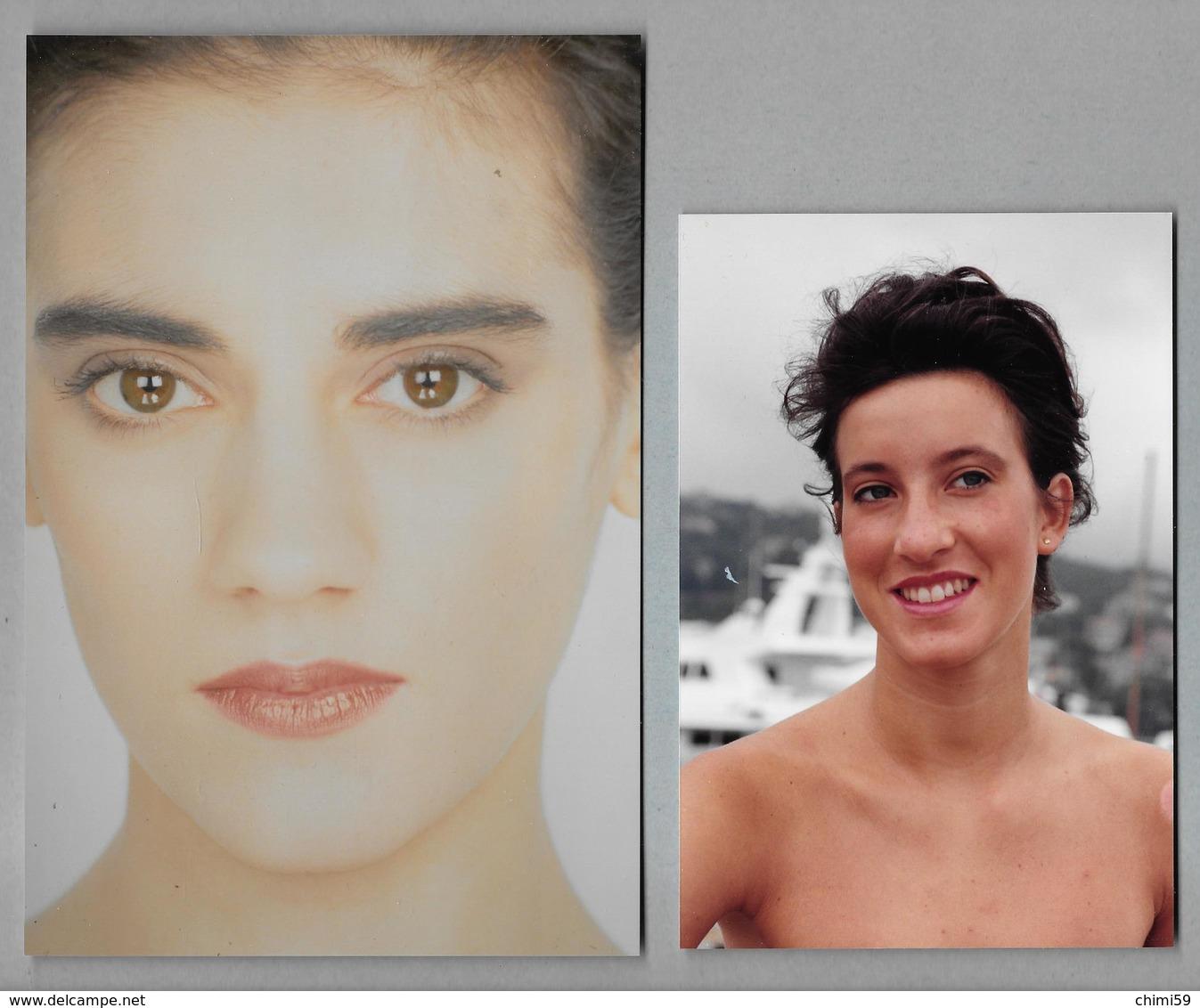PHOTO  -  FEMME - GIRL - WOMAN - MISS -  3 FOTOGRAFIE - Pin-ups