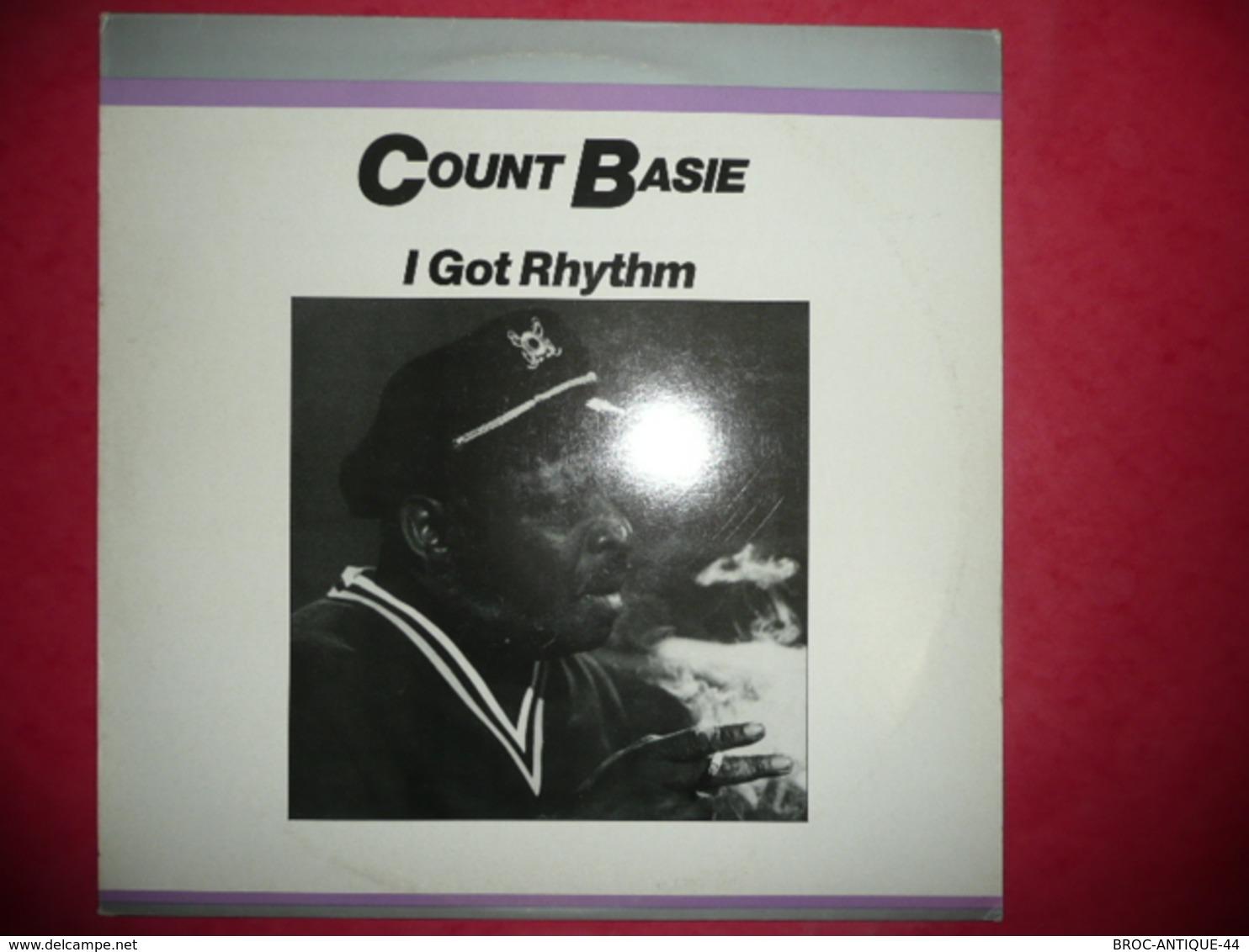 LP33 N°555 - COUNT BASIE - I GOT RHYTHM -  COMPILATION 12 TITRES - Jazz