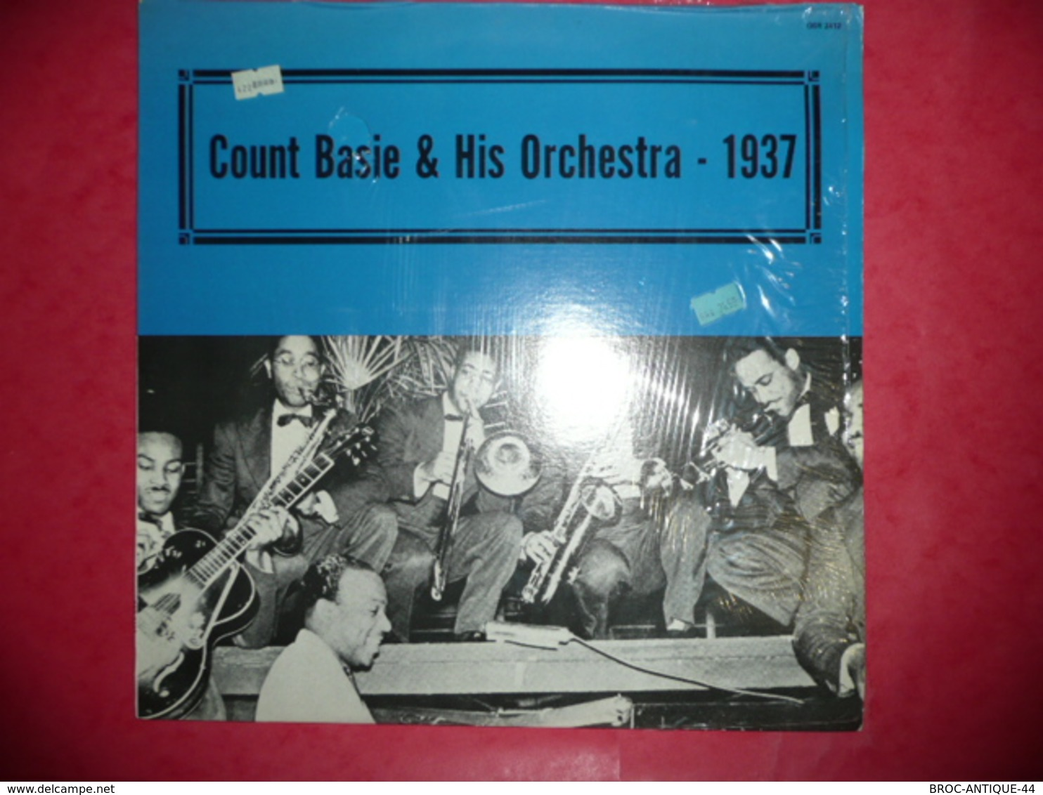 LP33 N°558 - COUNT BASIE & HIS ORCHESTRA - 1937 - COMPILATION 12 TITRES - Jazz