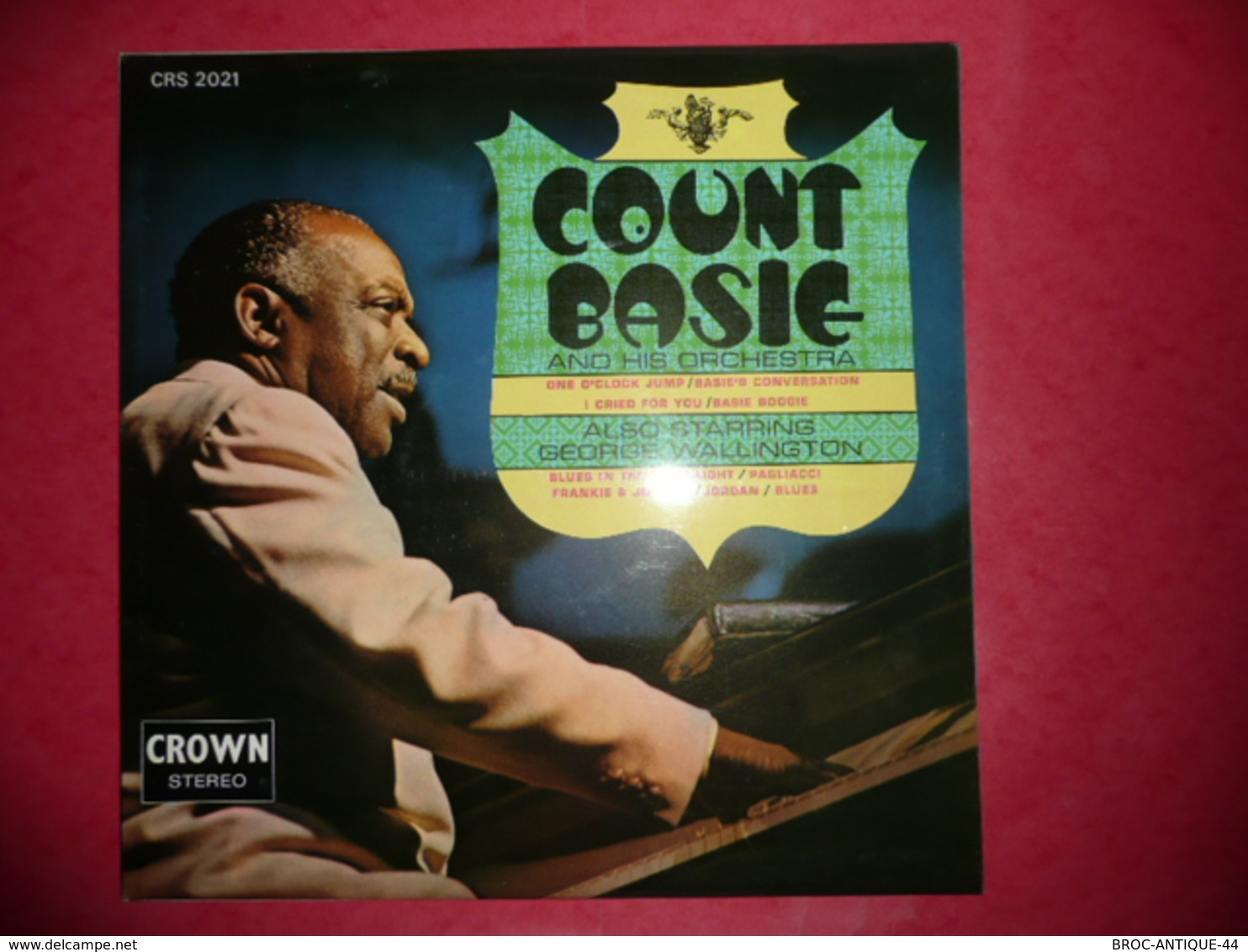 LP33 N°561 - COUNT BASIE AND HIS ORCHESTRA - COMPILATION 9 TITRES - Jazz