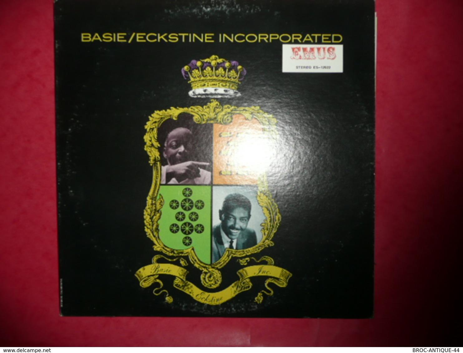 LP33 N°574 - BASIE / ECKSTINE INCORPORATED - COMPILATION 12 TITRES - Jazz