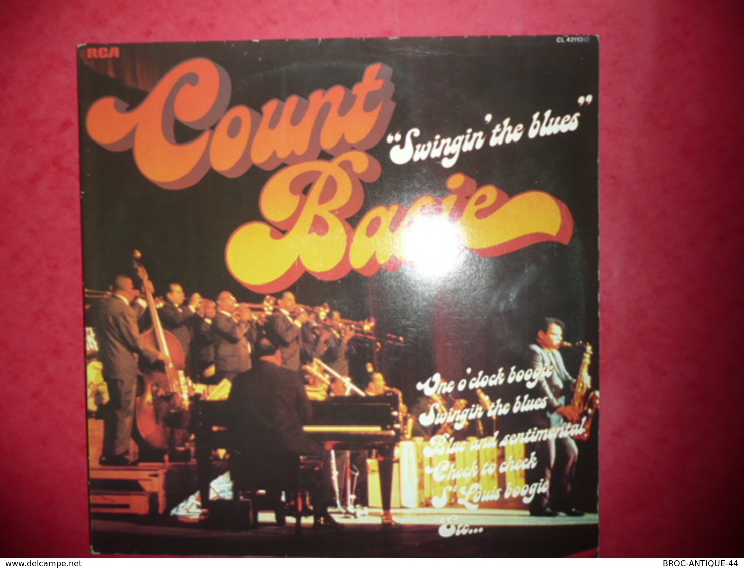 LP33 N°596 - COUNT BASIE - SWINGIN' THE BLUES - COMPILATION 2 LP 24 TITRES - Jazz