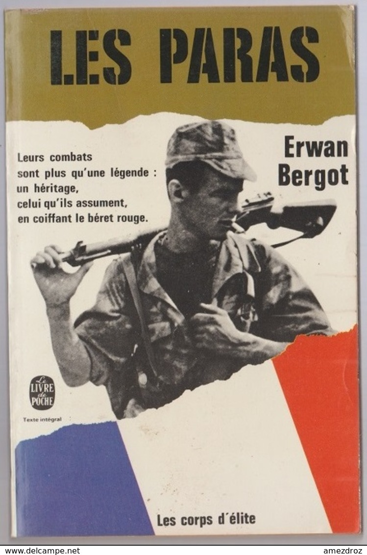 Erwan Bergot Les Paras Les Corps D'élites Poche - Books