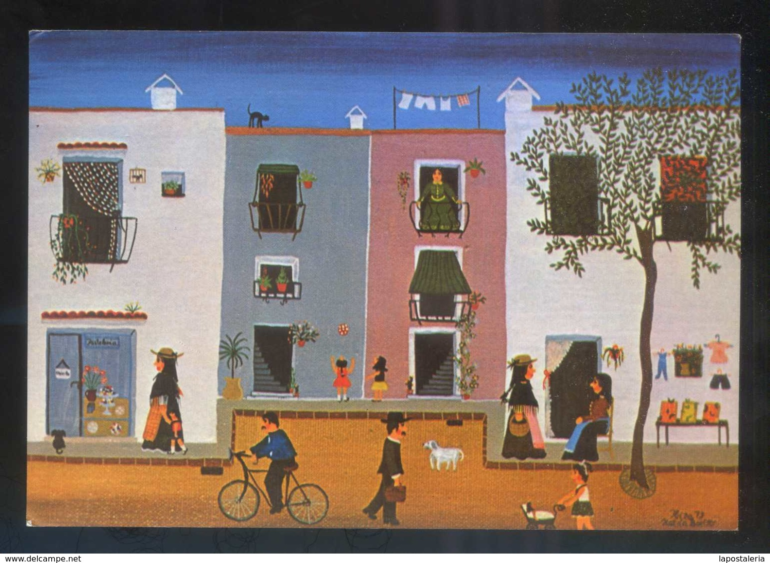 *Katrin Boelter* Ibiza, Galeria El Mensajero. Circulada 1981. - Pintura & Cuadros