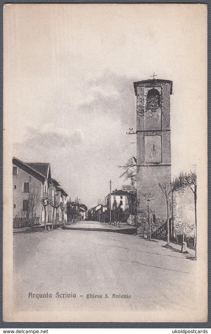 Italia  - ARQUATA SCRIVIA, Chiesa S. Antonio - Alessandria