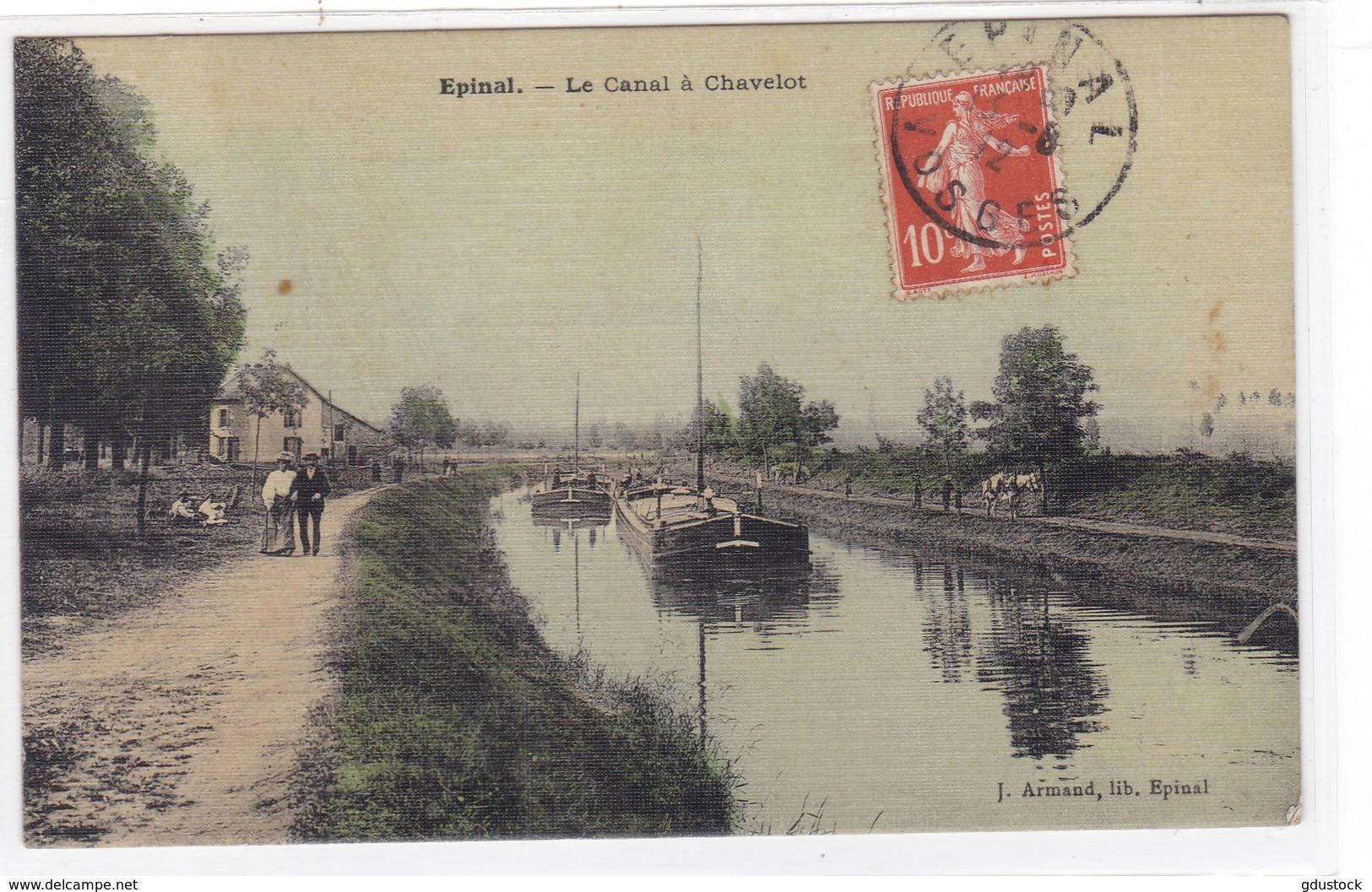 Vosges - Epinal - Le Canal à Chavelot - Epinal