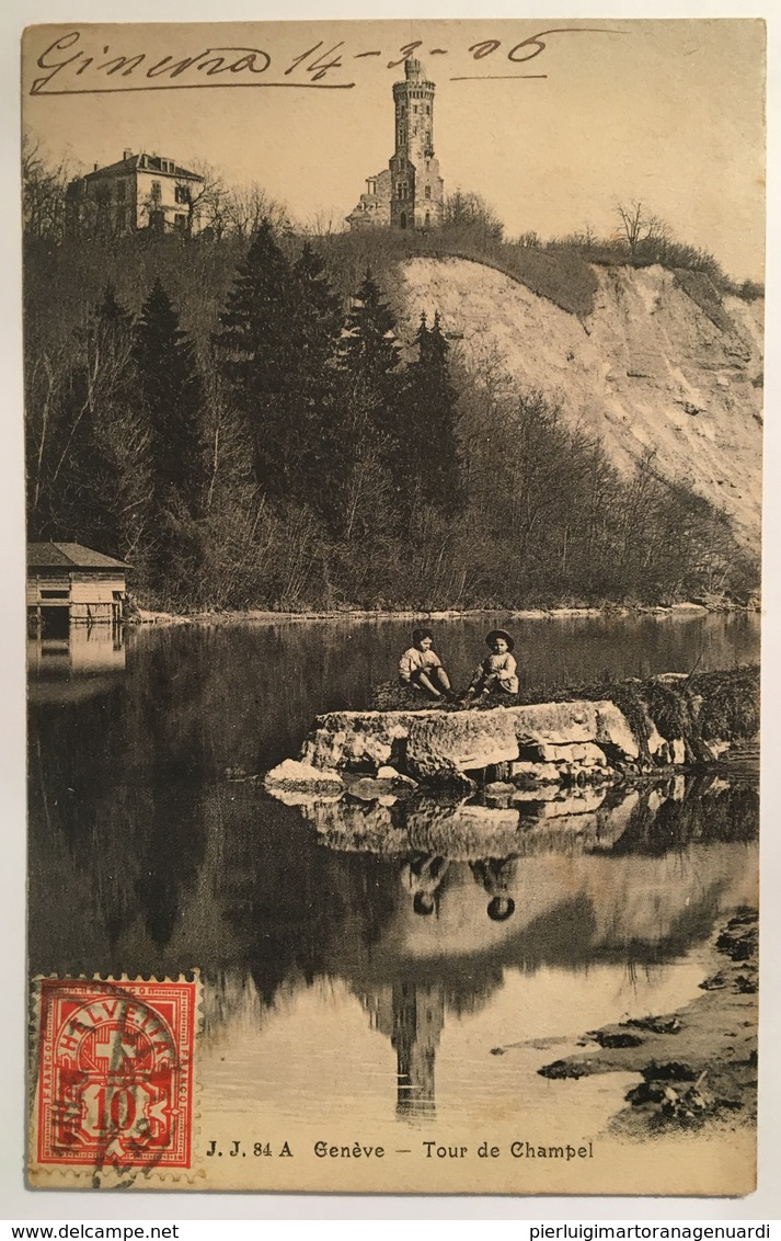 Ginevra 03 - Geneve - Tour De Champel ( 1906 ) - GE Ginevra