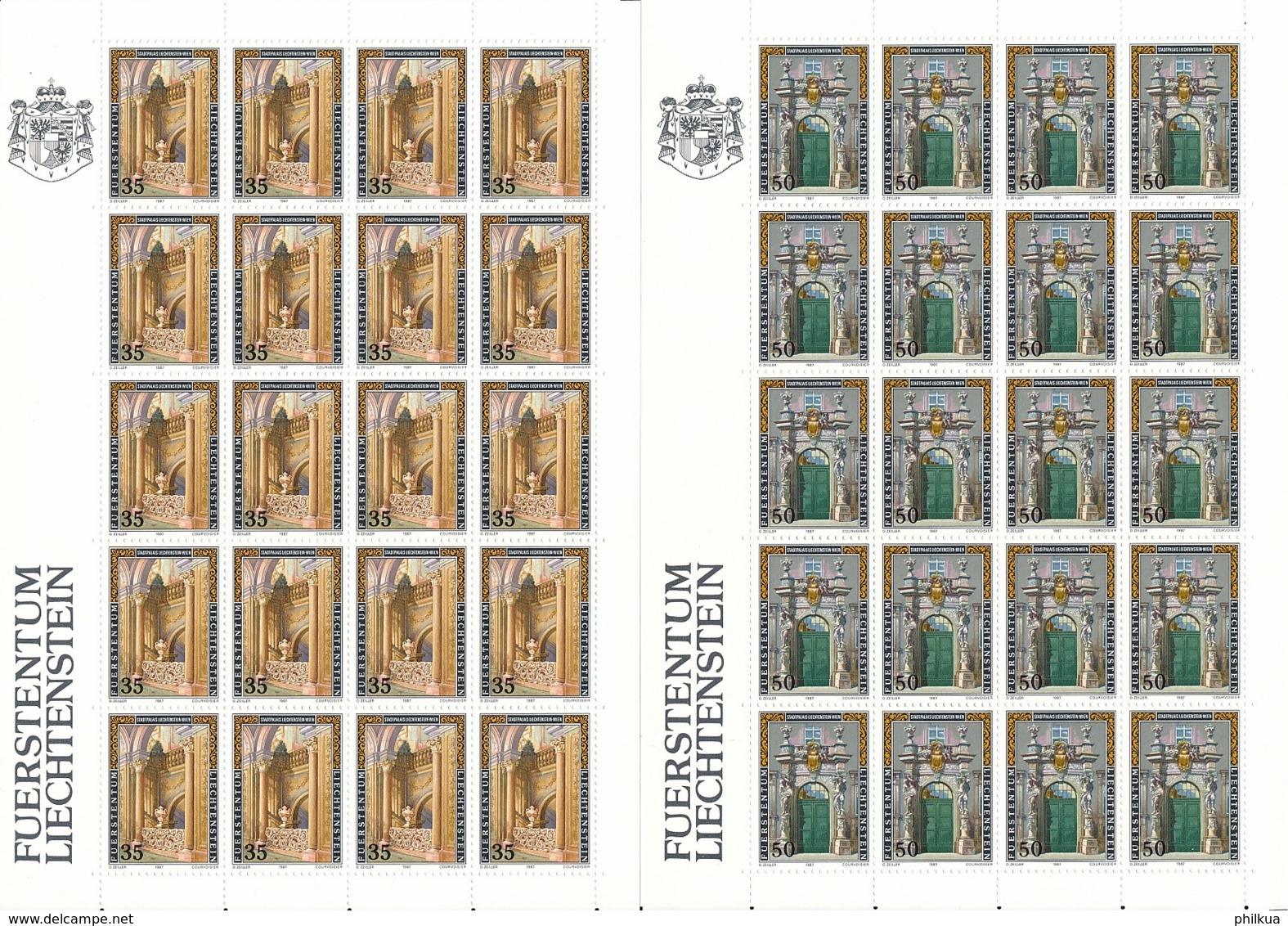 Zumstein 865-867 / Michel 925-927 Bogen-Serie Einwandfrei Postfrisch/** - Blocks & Sheetlets & Panes