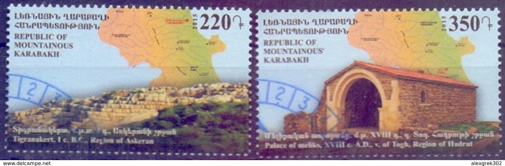 Used Armenia - Karabakh2015, Sights 2V. - Armenië