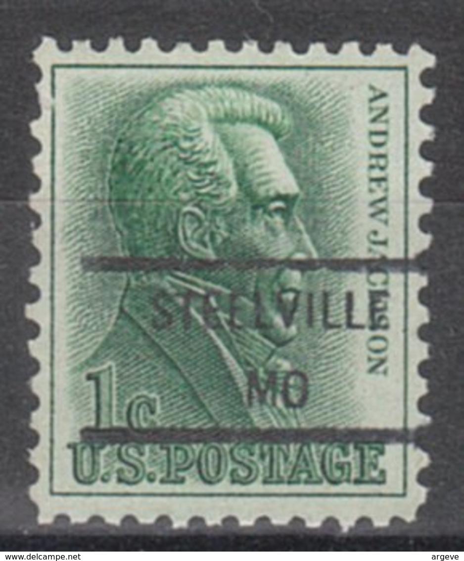 USA Precancel Vorausentwertung Preo, Locals Missouri, Steelville 846 - Vereinigte Staaten