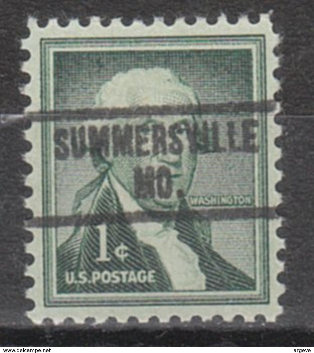 USA Precancel Vorausentwertung Preo, Locals Missouri, Summersville 734 - Vereinigte Staaten