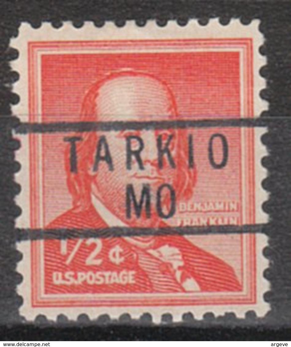 USA Precancel Vorausentwertung Preo, Locals Missouri, Tarkio 837 - Vereinigte Staaten