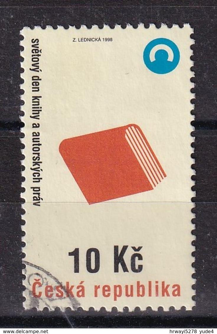 Czech Republic 1998, Minr 177 Vfu - Oblitérés