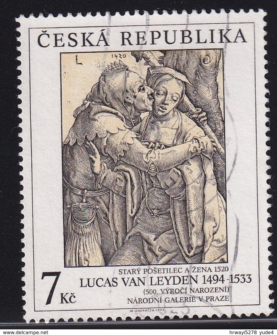 Czech Republic 1994, Minr 56 Vfu - Oblitérés