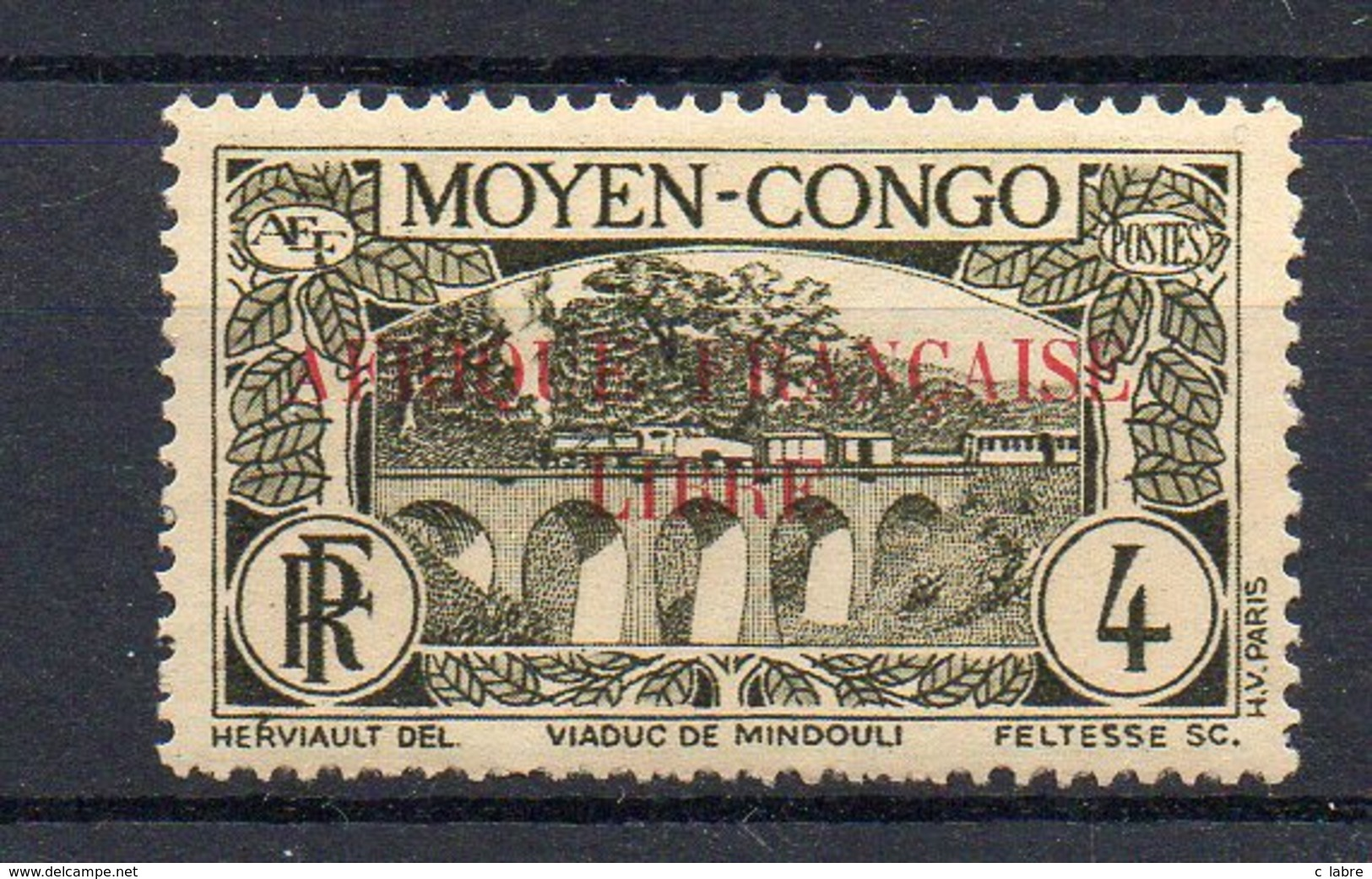A.E.F : N° 101 . GOMME USUELLE . B . 1940 . ( CATALOGUE YVERT ) . - A.E.F. (1936-1958)