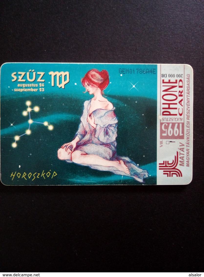 Télécarte De Hongrie : Vierge - Zodiac