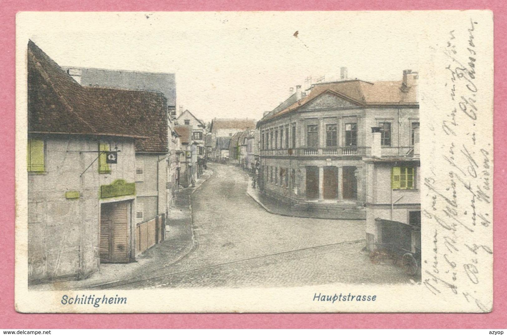 67 - SCHILTIGHEIM - Hauptstrasse - Schiltigheim