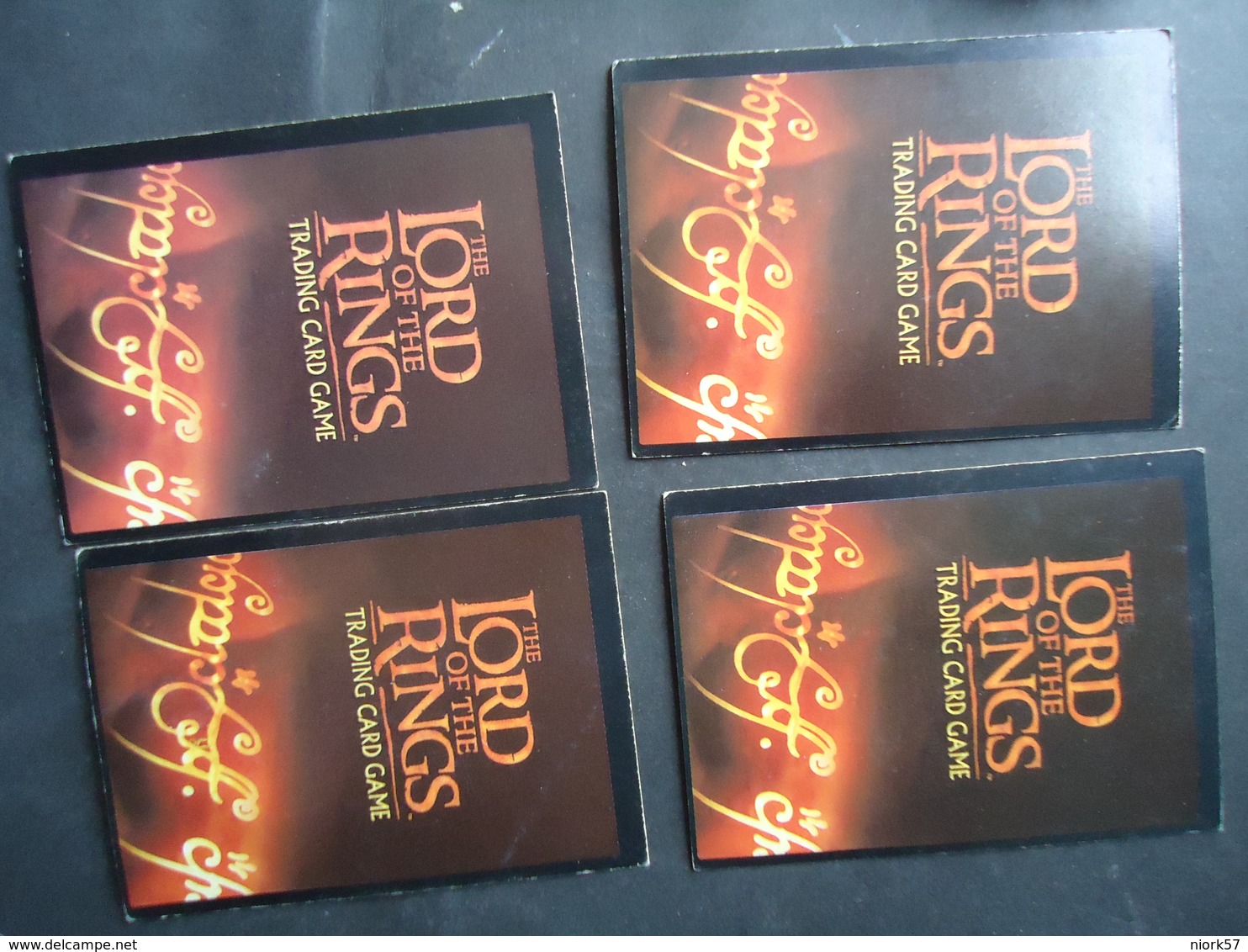 TRADING CARDS CINEMA  4  THE LORD OF THE RINGS  2 SCAN - Lord Of The Rings