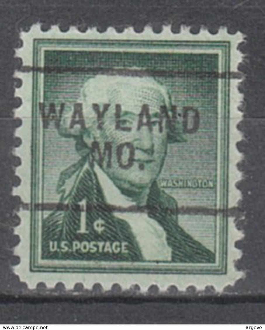 USA Precancel Vorausentwertung Preo, Locals Missouri, Wayland 703 - Vereinigte Staaten