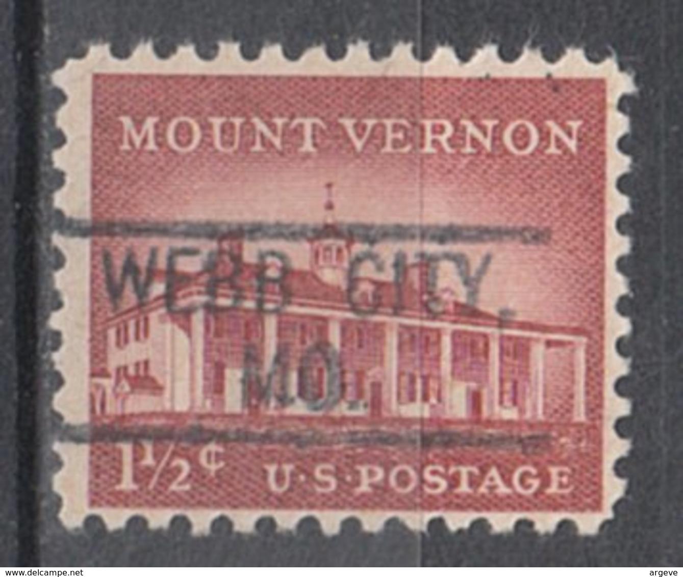 USA Precancel Vorausentwertung Preo, Locals Missouri, Weeb City 802 - Vereinigte Staaten