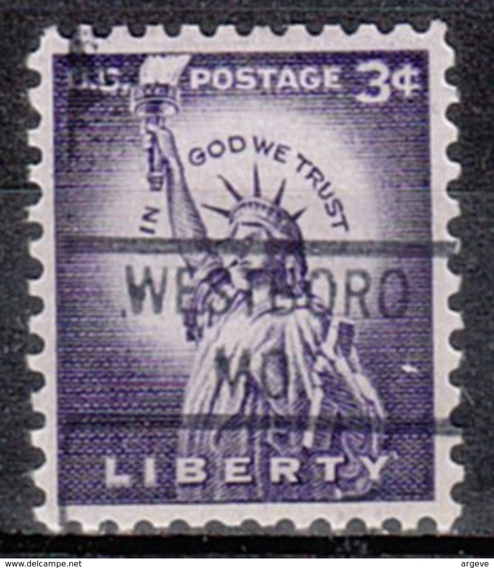 USA Precancel Vorausentwertung Preo, Locals Missouri, Westboro 821 - Vereinigte Staaten