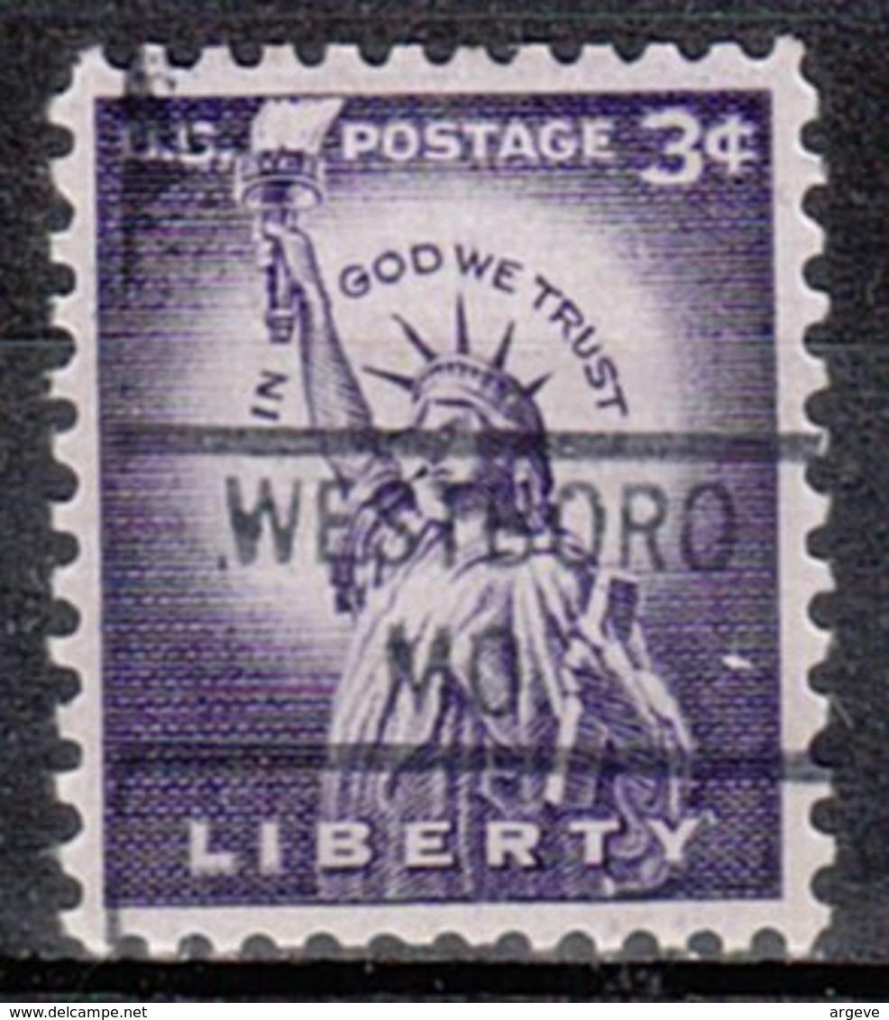 USA Precancel Vorausentwertung Preo, Locals Missouri, Westboro 821 - Etats-Unis