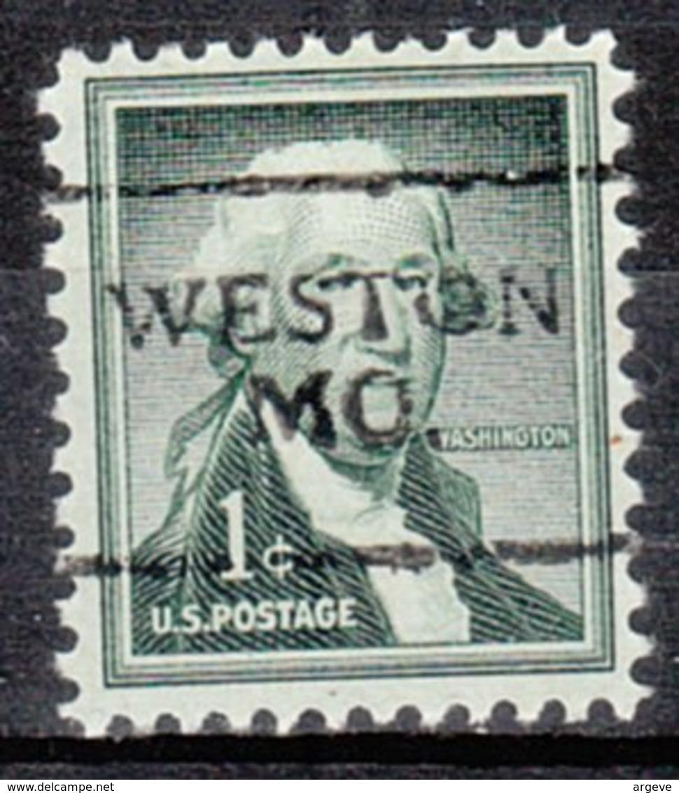 USA Precancel Vorausentwertung Preo, Locals Missouri, Weston 701 - Vereinigte Staaten