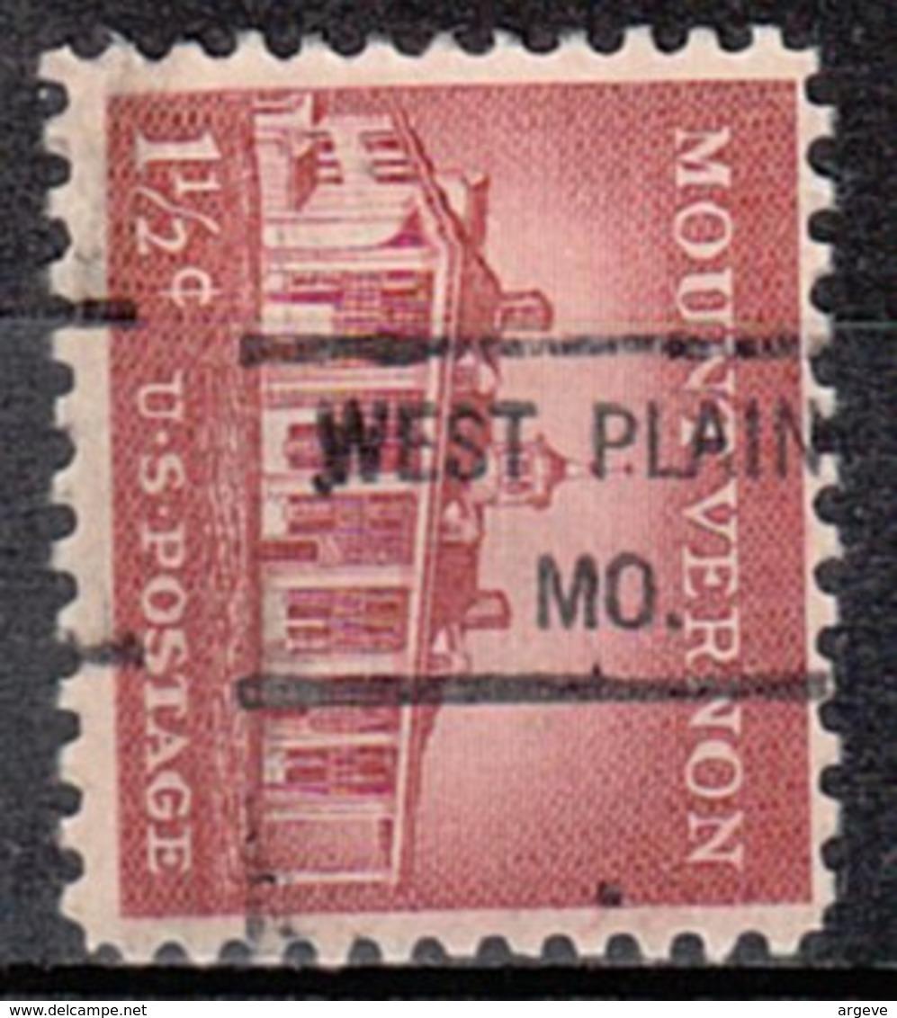USA Precancel Vorausentwertung Preo, Locals Missouri, West Plains 807 - Vereinigte Staaten