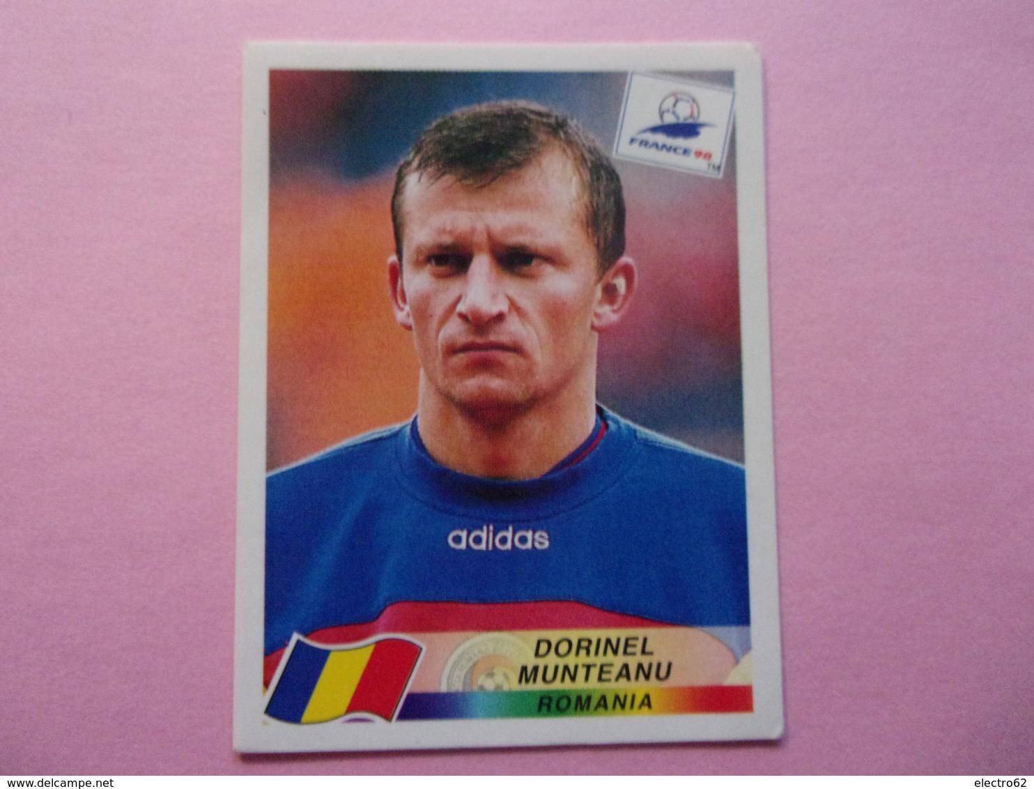 PANINI Football FRANCE 98 Dorinel MUNTEANU  Roumanie Roumania DANONE - Panini