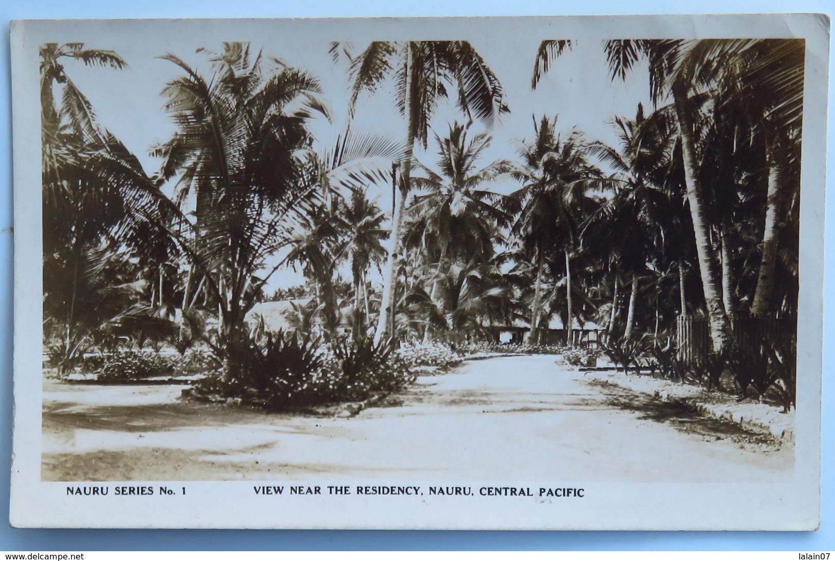 C. P. A. : NAURU, Central Pacific : View Near The Residency - Nauru