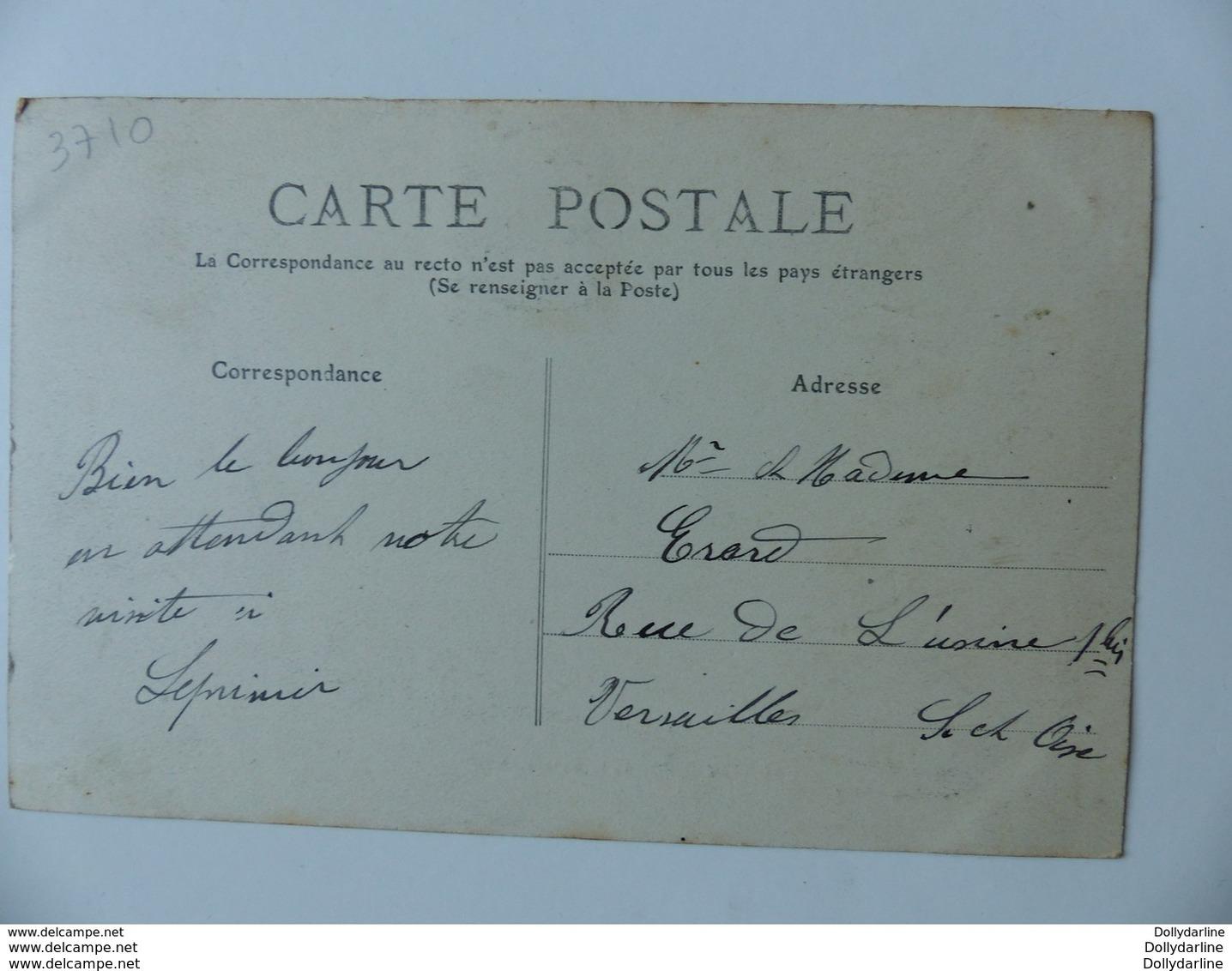 CPA SONZAY Rue De La Baretière 37 Indre Et Loire Ecrite Circulée 1910 Animée - Sonstige Gemeinden