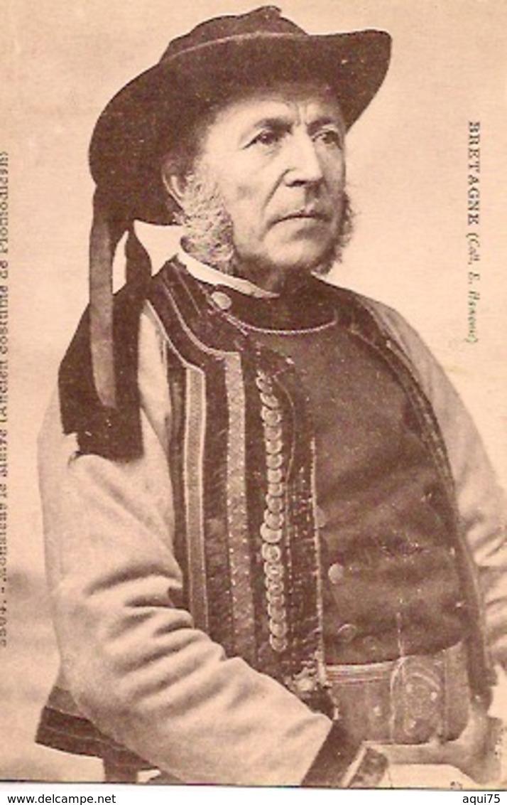 BRETAGNE   Collection E Hamonic   Monsieur Le Maire (Ancien Costume De Plomodiern - Plomodiern