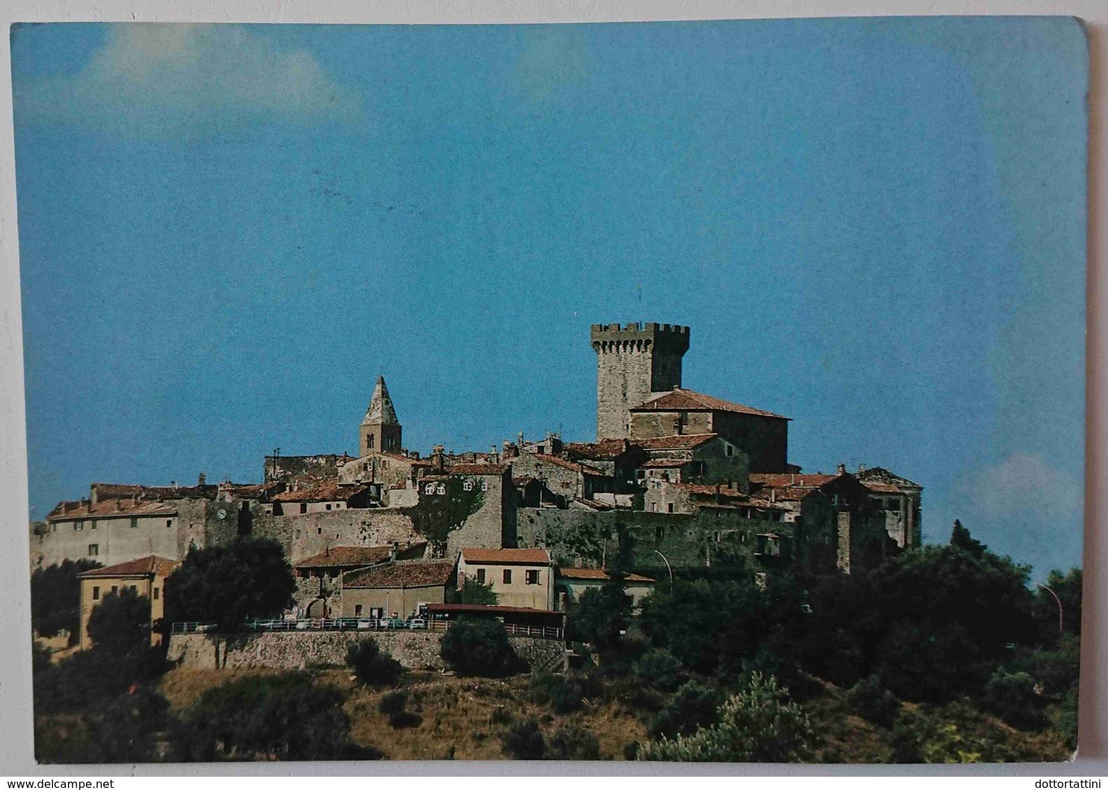 CAPALBIO (GROSSETO) - Panorama - Torre Del Castello - Vg   T3 - Grosseto