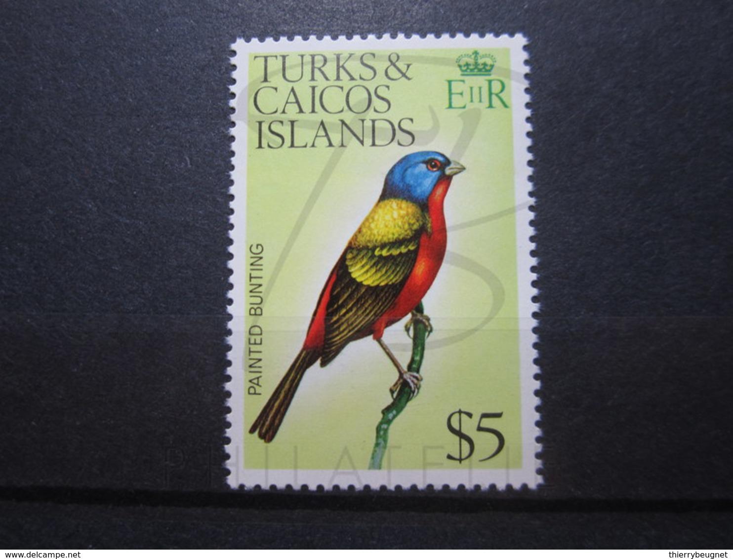 VEND BEAU TIMBRE DE TURKS & CAICOS N° 361 , XX !!! - Turks & Caicos