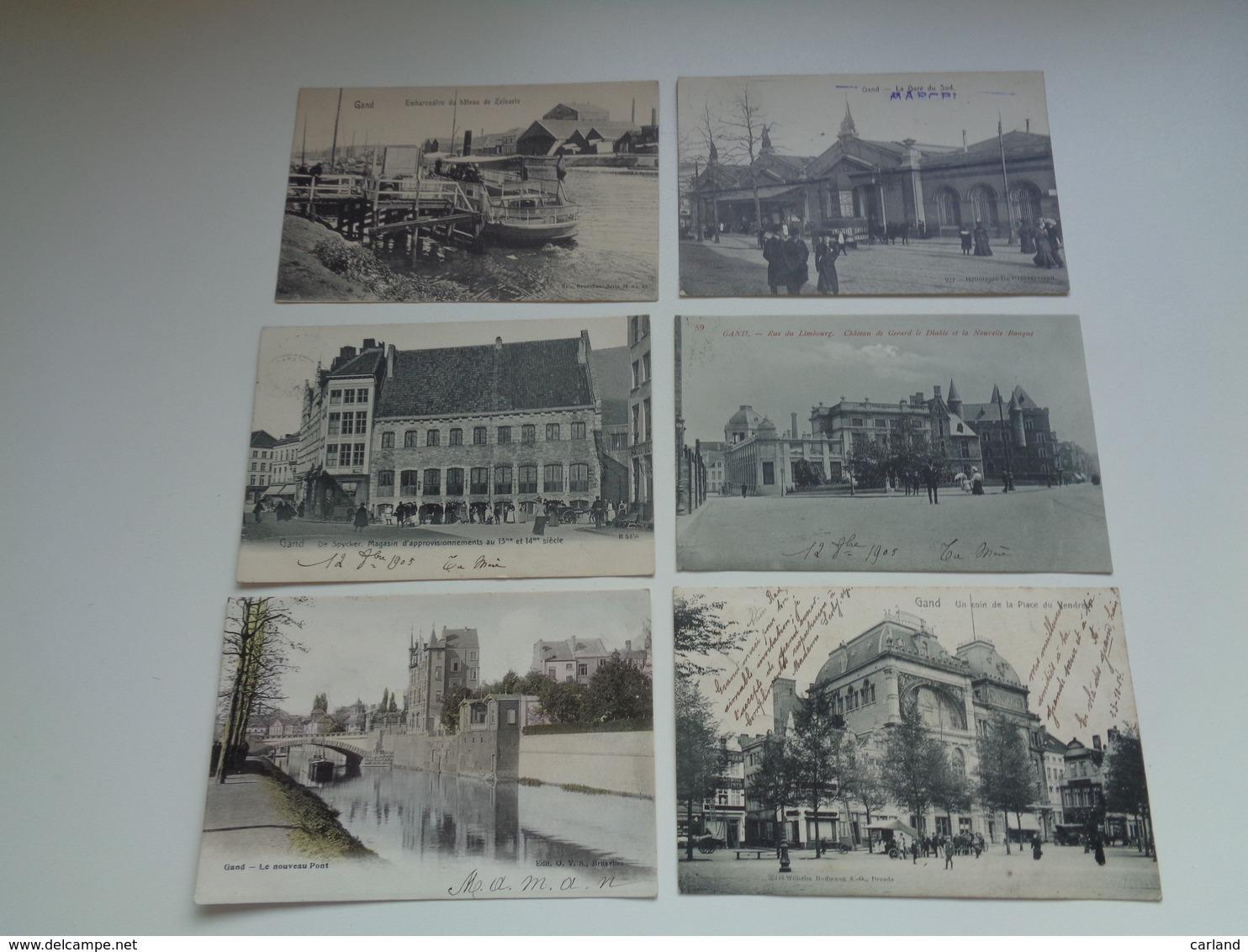 Beau Lot De 20 Cartes Postales De Belgique  Gand     Mooi Lot Van 20 Postkaarten Van België  Gent  - 20 Scans - Postkaarten