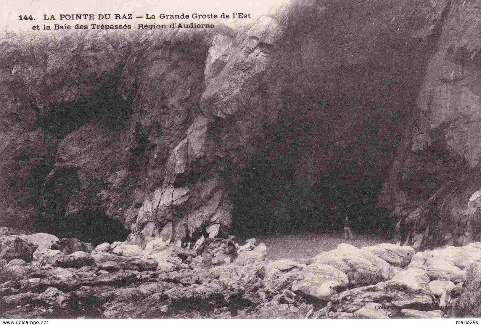 29 CLEDEN-CAP-SIZUN La Grande Grotte De L'Est Et La Baie Des Trépassés - Animée - Cléden-Cap-Sizun