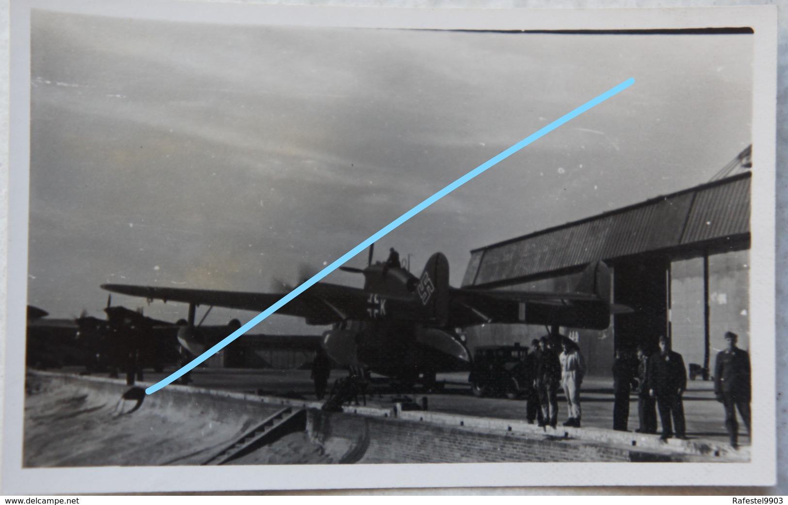 Photo LUFTWAFFE BLOHM & VOSS BV138 Seedrache See Patrol WW2 Palne Avion Aviation Hydravion Seaplane - Oorlog, Militair