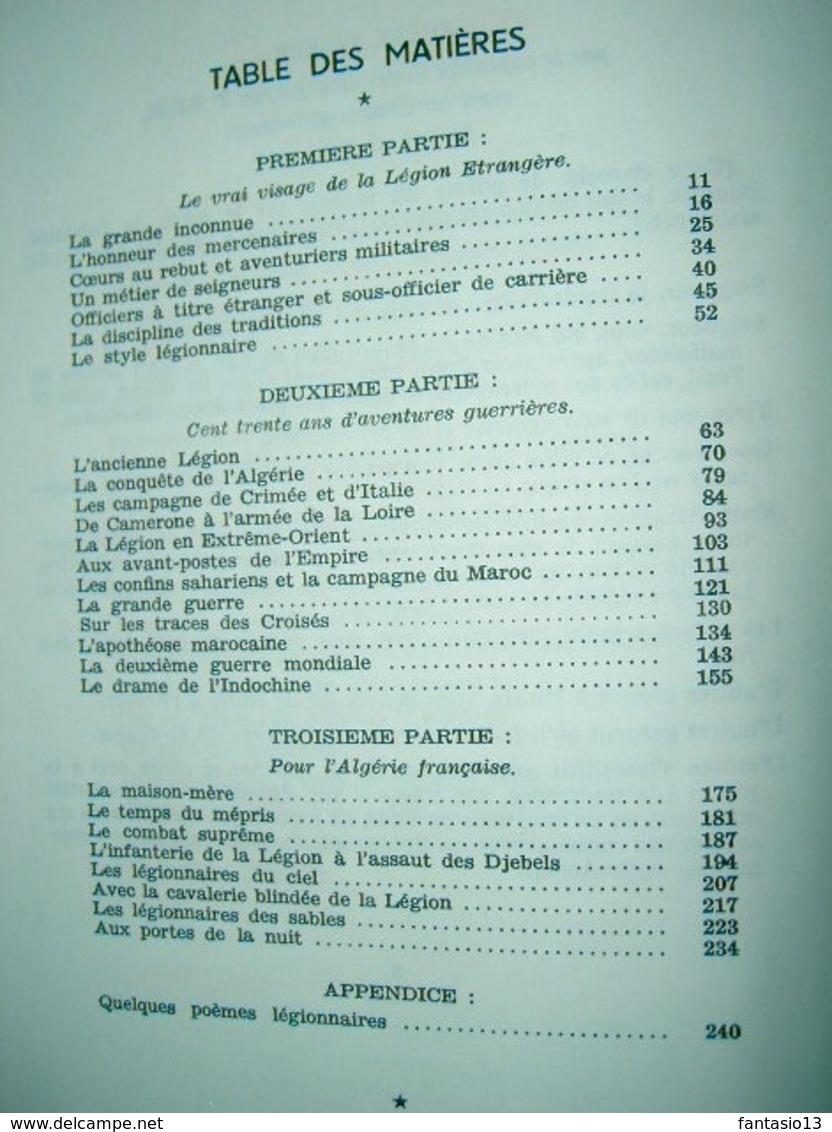 Et Voici La Légion Etrangère  Jean Des Vallières  1963 - Frans