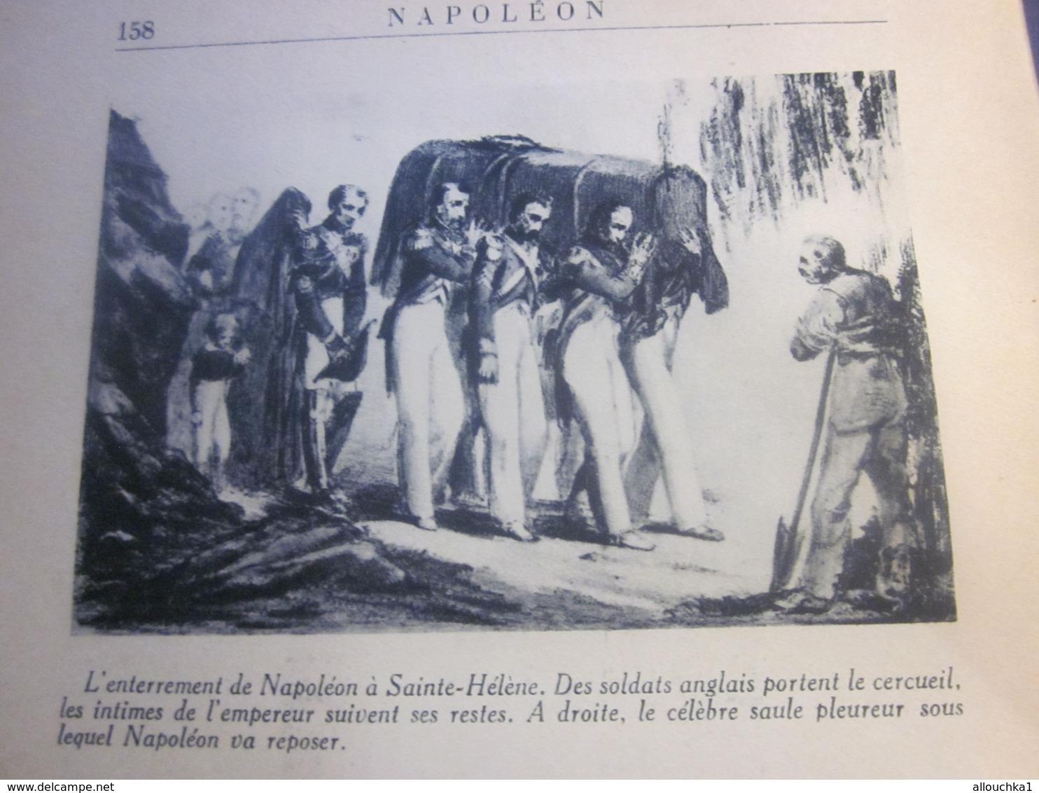 1947 NAPOLEON De PIERRE CLUZEL-ED FERNAND NATHAN OUVRAGE ORNÉ 149 PHOTOGRAPHIES LIRE AVANT PROPOS & TABLE MATIÈRES 160 P - Boeken