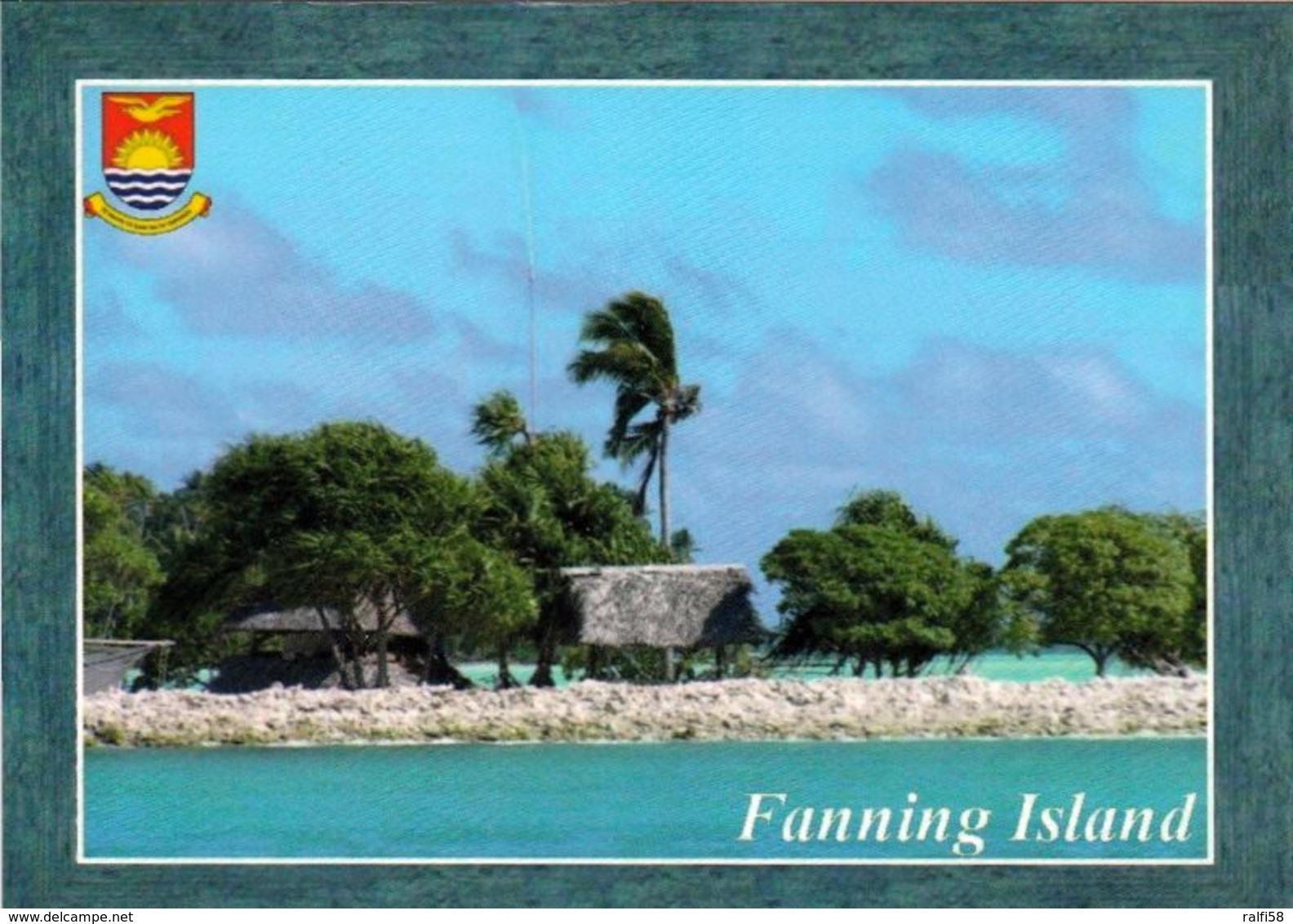 1 AK Kiribati * Ansicht Von Fanning Island - Ein Atoll Im Norden Der Line Islands * - Kiribati