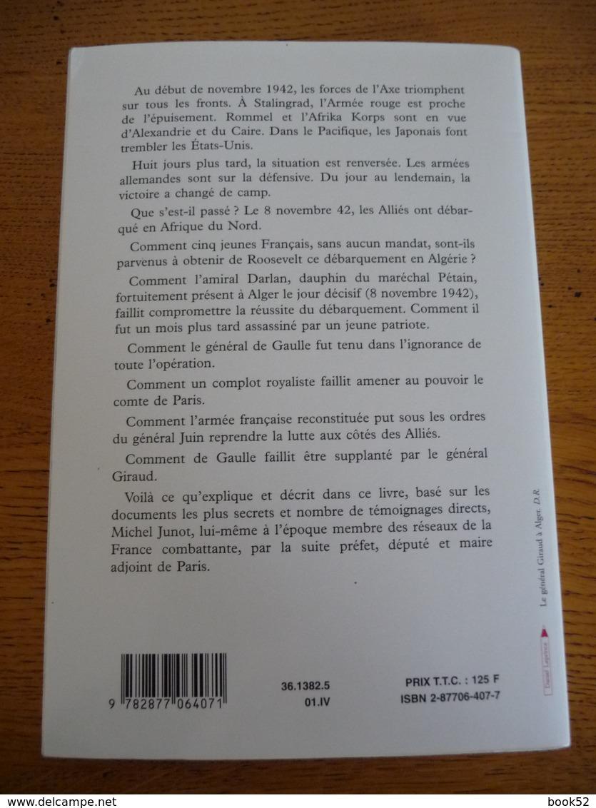 OPERATION TORCH 8 Novembre 1942 Les Américains Débarquent En Algérie - Guerra 1939-45