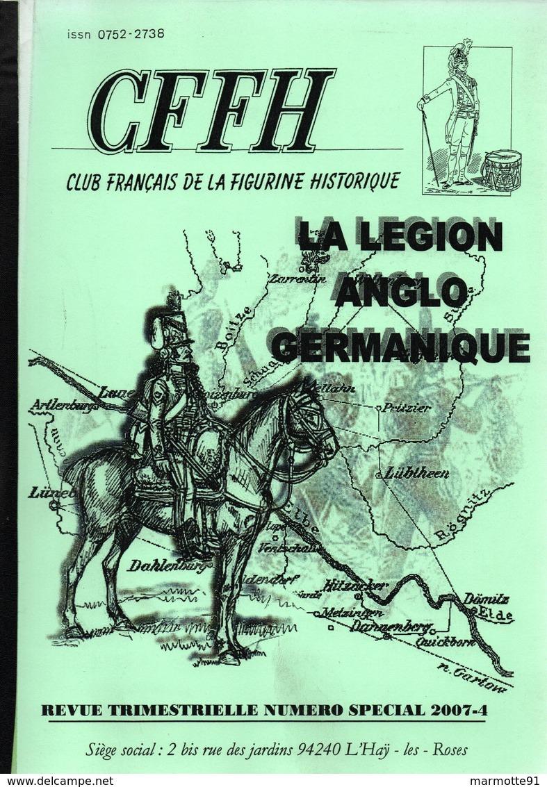 CFFH LA LEGION ANGLO GERMANIQUE GUERRE EMPIRE KING'S GERMAN LEGION 1803 1815 - Boeken