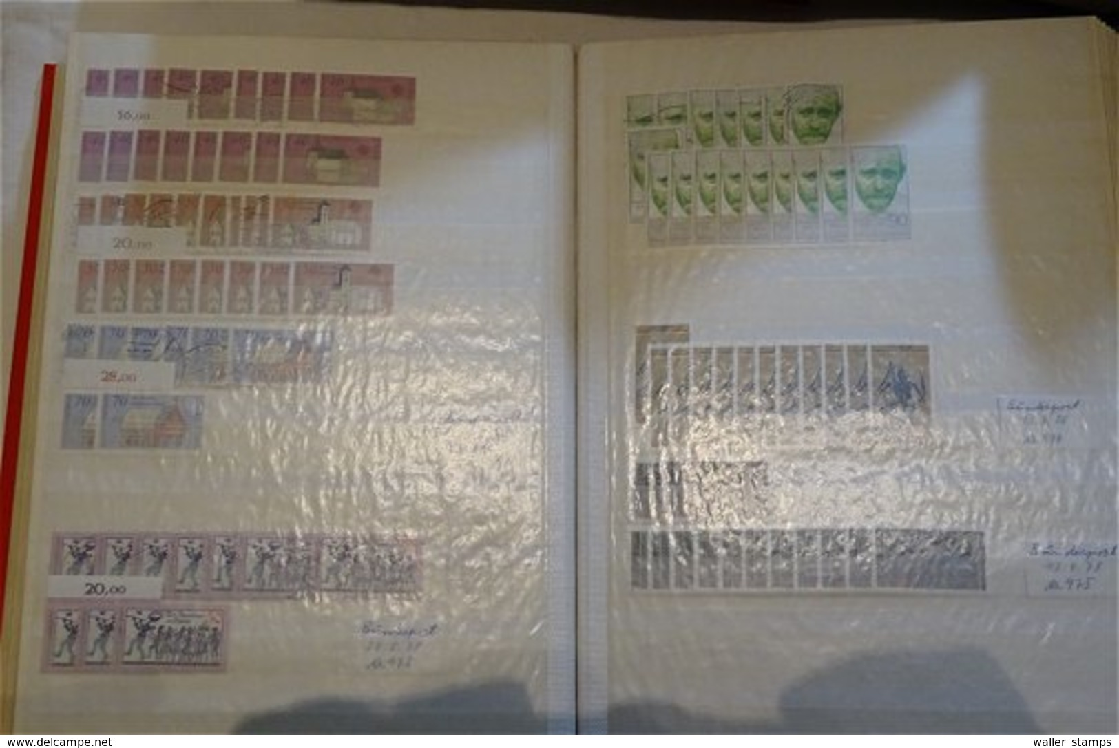 Lot With World Stamps In 12 Albums - Stamps