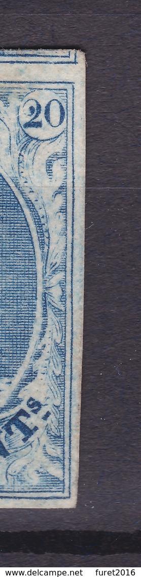 N° 7 Margé  RETOUCHE DE FEUILLAGE Papier Côtelé - 1851-1857 Médaillons (6/8)