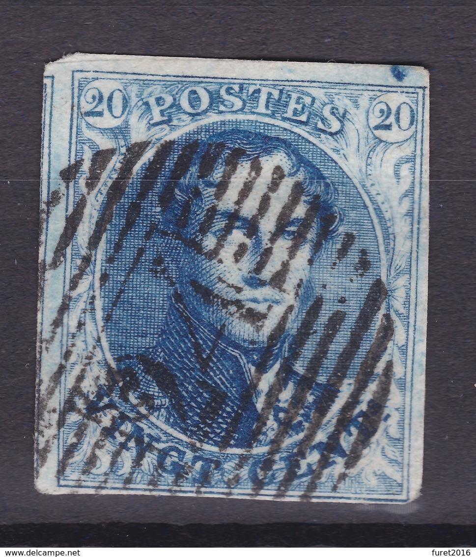 N° 7 Margé  COUP DE BURIN INTERCADRE - 1851-1857 Médaillons (6/8)