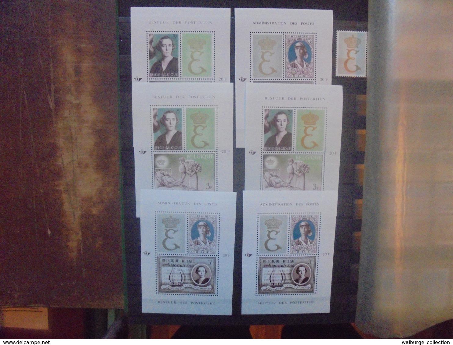 START 1 EURO ! BELGIQUE COLLECTION NEUVE MULTIPLES (2591) 1 KILO 400 - Belgium