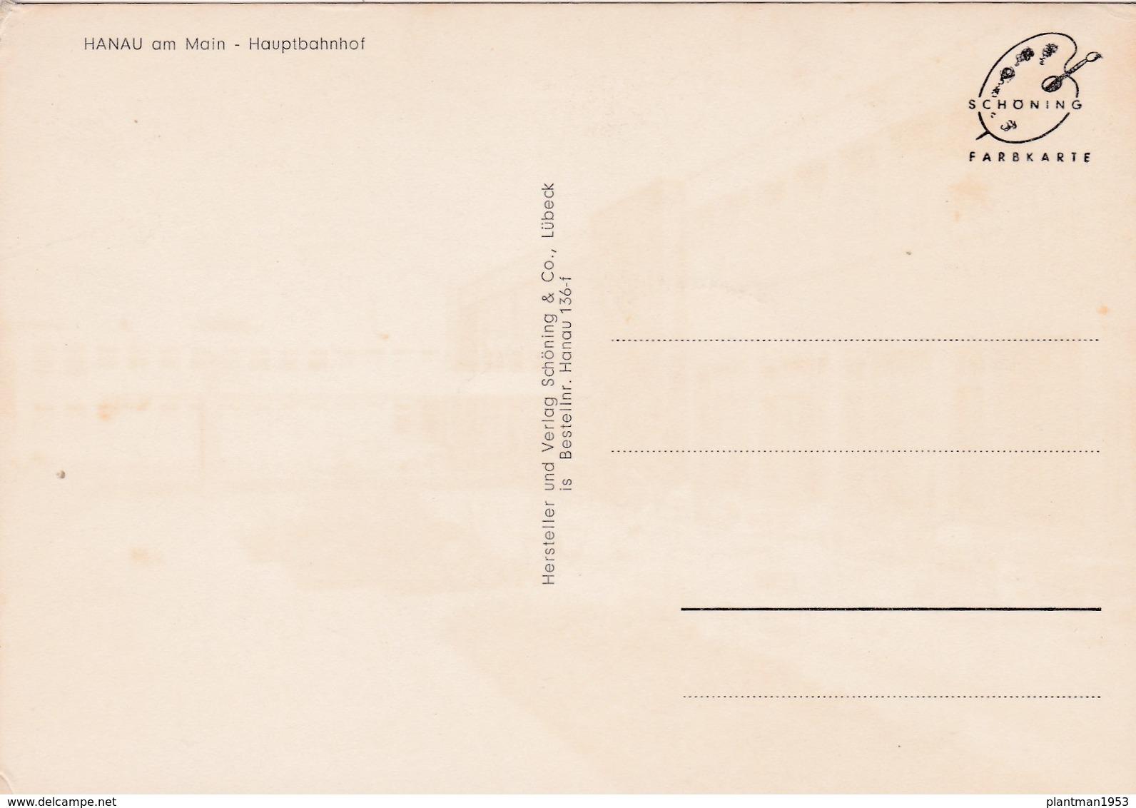 Modern Post Card Of Hanau Am Main, Hesse, Germany,D52. - Hanau